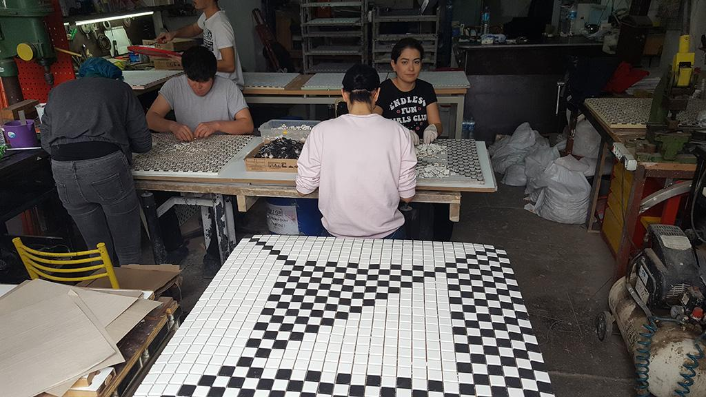 Ankara Restaurant Vitra Porselen Bazlı Çalışma