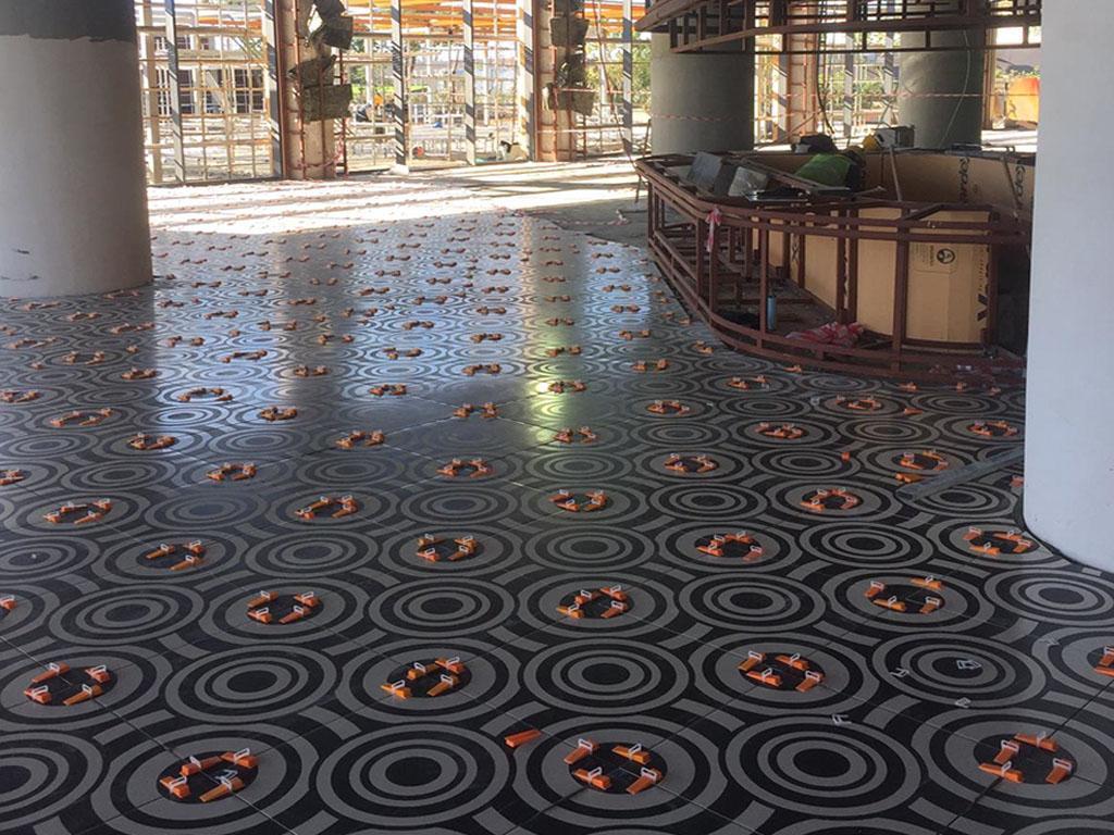 Antalya Otel 60x60cm Tasarım Seramik