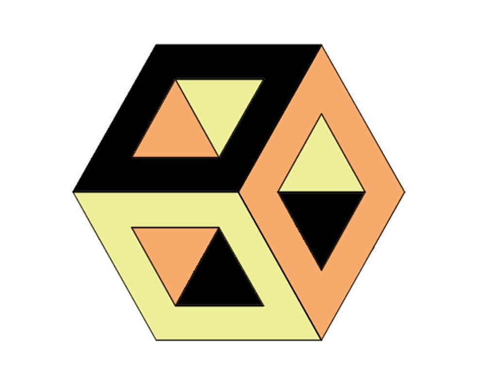 Escher Altigen Karo Mozaik