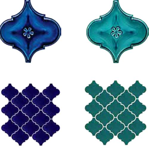 Arabesk Porselen Mozaik