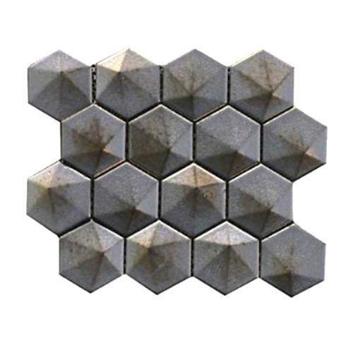 Üç Boyutlu Altıgen Mozaik