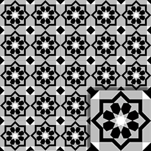 Karo Mozaik Model 16